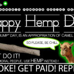 HAPPY HEMP DAY FEBRUARY 6 2020- Camel Culture