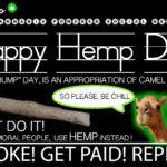 HAPPY HEMP DAY FEBRUARY 6 2020- Camel Culture